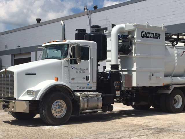 Guzzler Truck